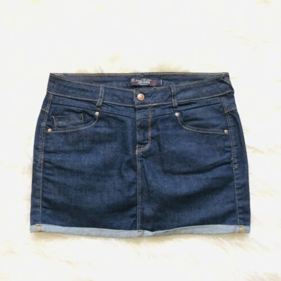 Zara Dresses & Skirts - Zara TRF Core Denim Size 6 Jeans Skirt EP3-861
